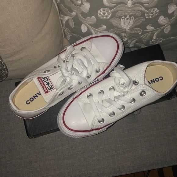 New! Converse Allstar Low Top White Women's Size 6